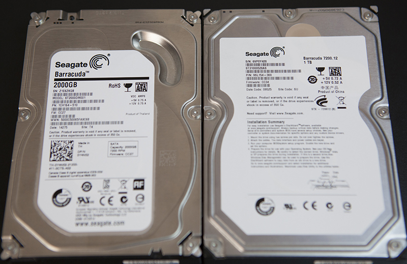 Hard disks of mechanical type