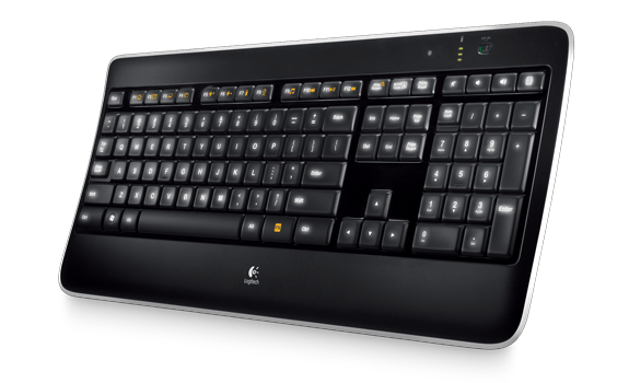 Logitech K800 Design