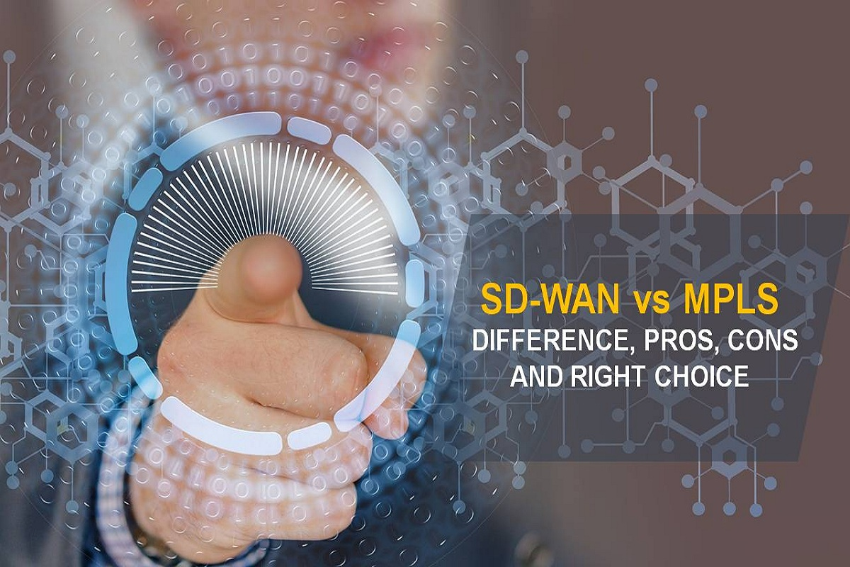 SD-WAN vs MPLS  – Difference, Pros, Cons and Right Choice