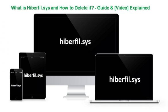 What is Hiberfil.sys and How to Delete it - Guide & [Video] Explained