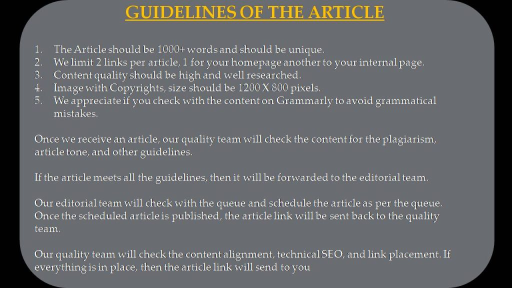 5G Write For Us - Guidelines of the Article