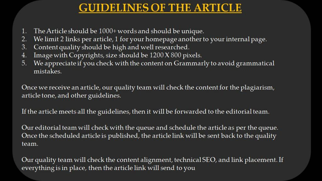 Computer Write For Us - Guidelines of the Article
