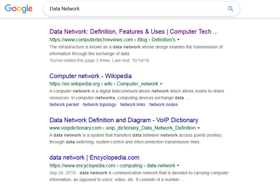 Data Network Ranking for Computertechreviews