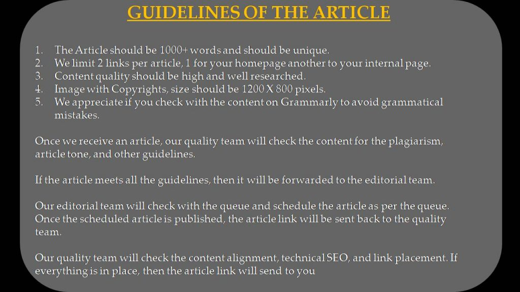 Smartphone Write For Us - Guidelines of the Article