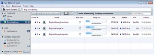 image result for uTorrent Alternatives - vuze