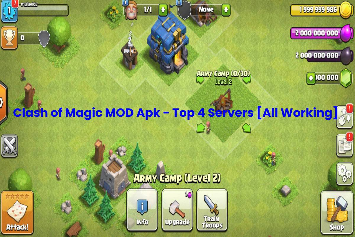Clash Of Magic Mod Apk Top 4 Servers All Working