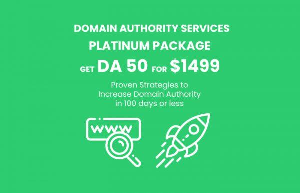 DA 50 Platinum Package