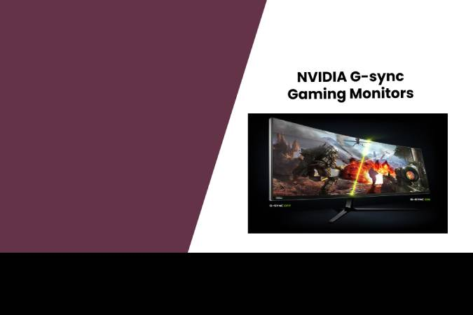 NVIDIA G-sync Gaming Monitors