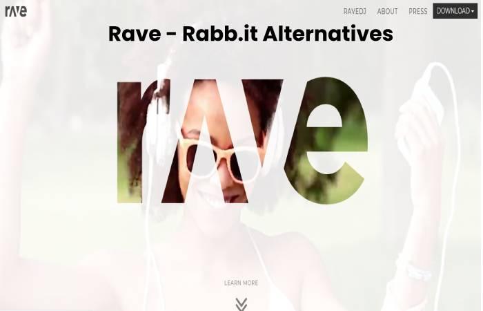 Rave - Rabb.it Alternatives