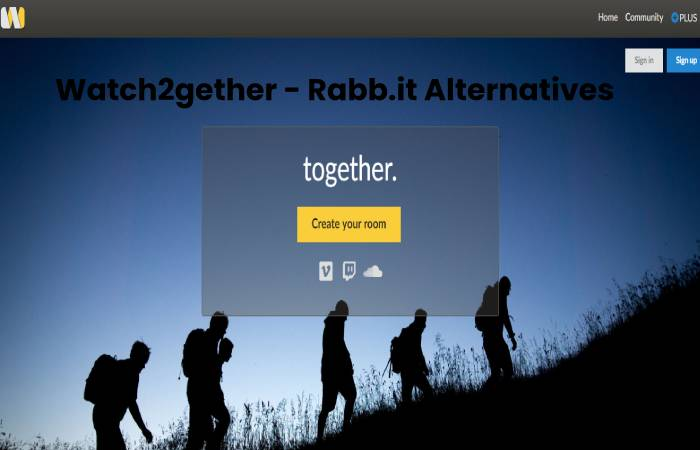Watch2gether - Rabb.it Alternatives