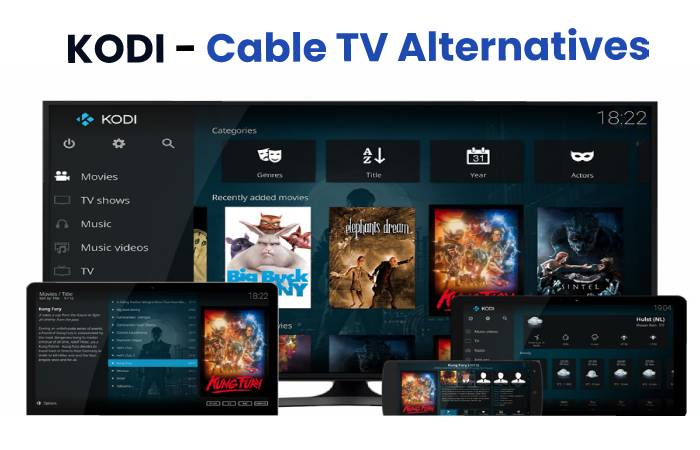 Kodi - Cable TV Altervatives