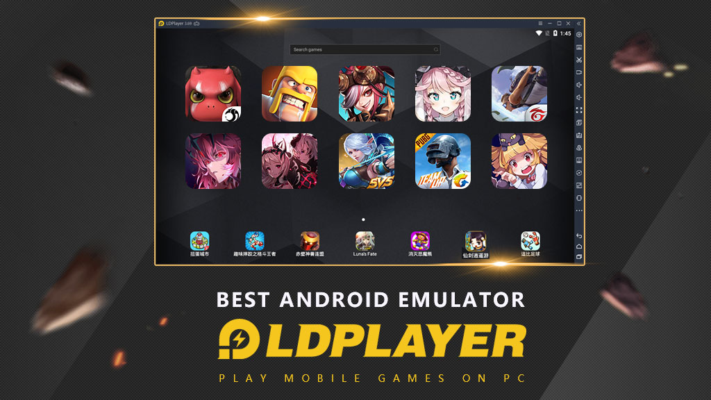 LDPlayer Download for Free – Quick Responding and User-Friendly