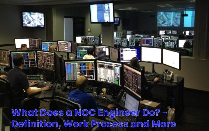 image result for What Does a NOC Engineer Do - Definition, Work Process and More
