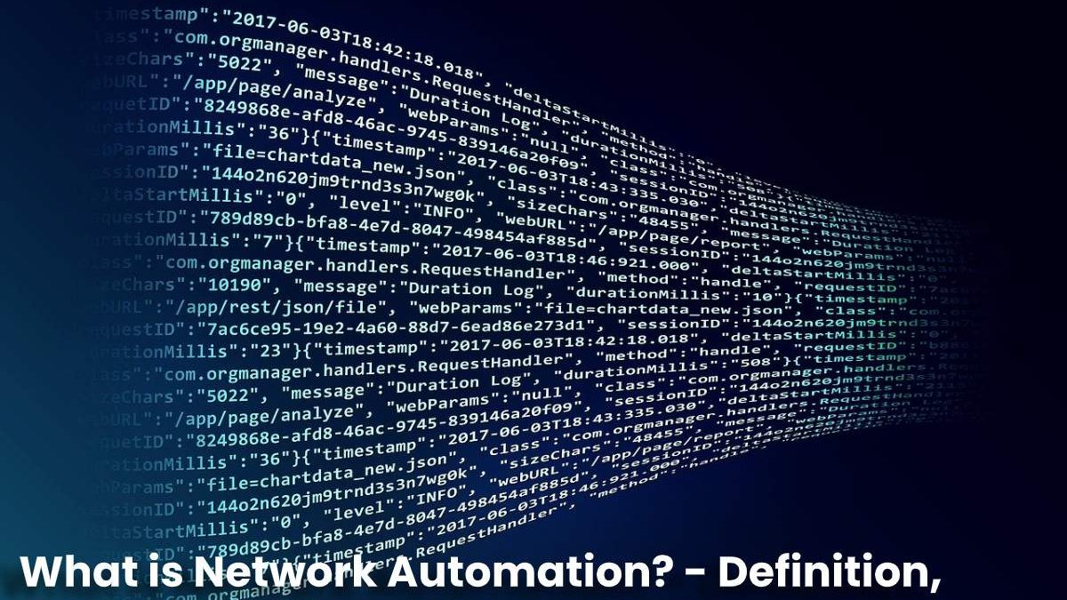 What is Network Automation? – Definition, Types, Benefits and More
