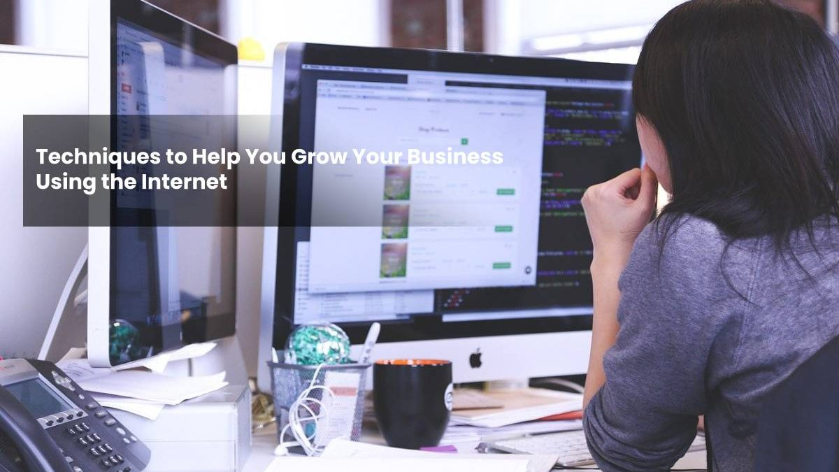 Techniques to Help You Grow Your Business Using the Internet