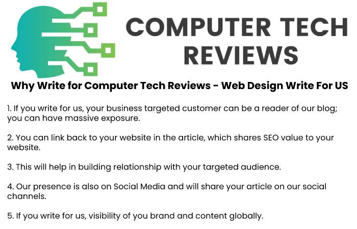 Why Write for Computer Tech Reviews - Web Design Write For Us