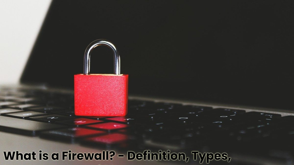 What is a Firewall? – Definition, Types, Importance and More