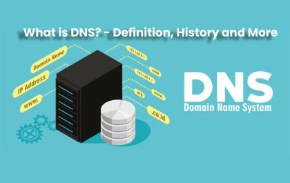 image result for What is DNS (Domain Name System) - Definition, History and More