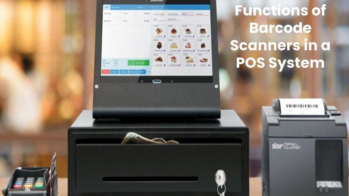 Functions of Barcode Scanners in a POS System