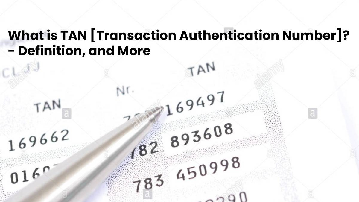 What is TAN [Transaction Authentication Number]? – Definition, and More