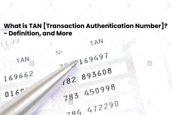 What is TAN [Transaction Authentication Number]? - Definition, and More