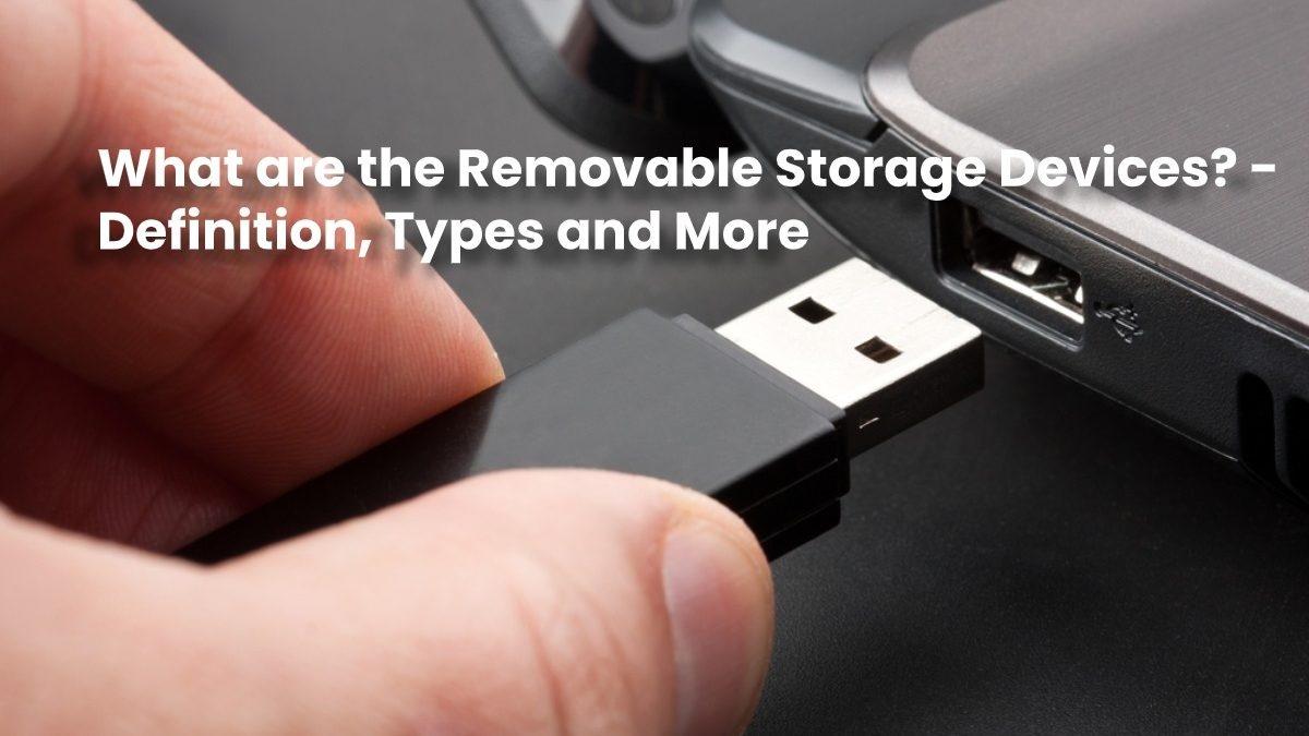 What are the Removable Storage Devices? – Definition, Types and More