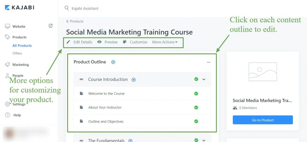 Streamline your marketing workflows -Kabaji