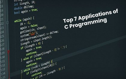 Top 7 Applications of C Programming