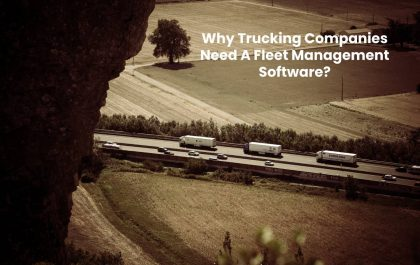 Why Trucking Companies Need A Fleet Management Software