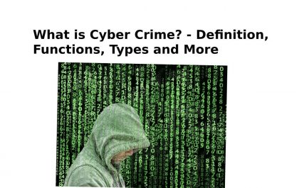 What is Cyber Crime? - Definition, Functions, Types and More