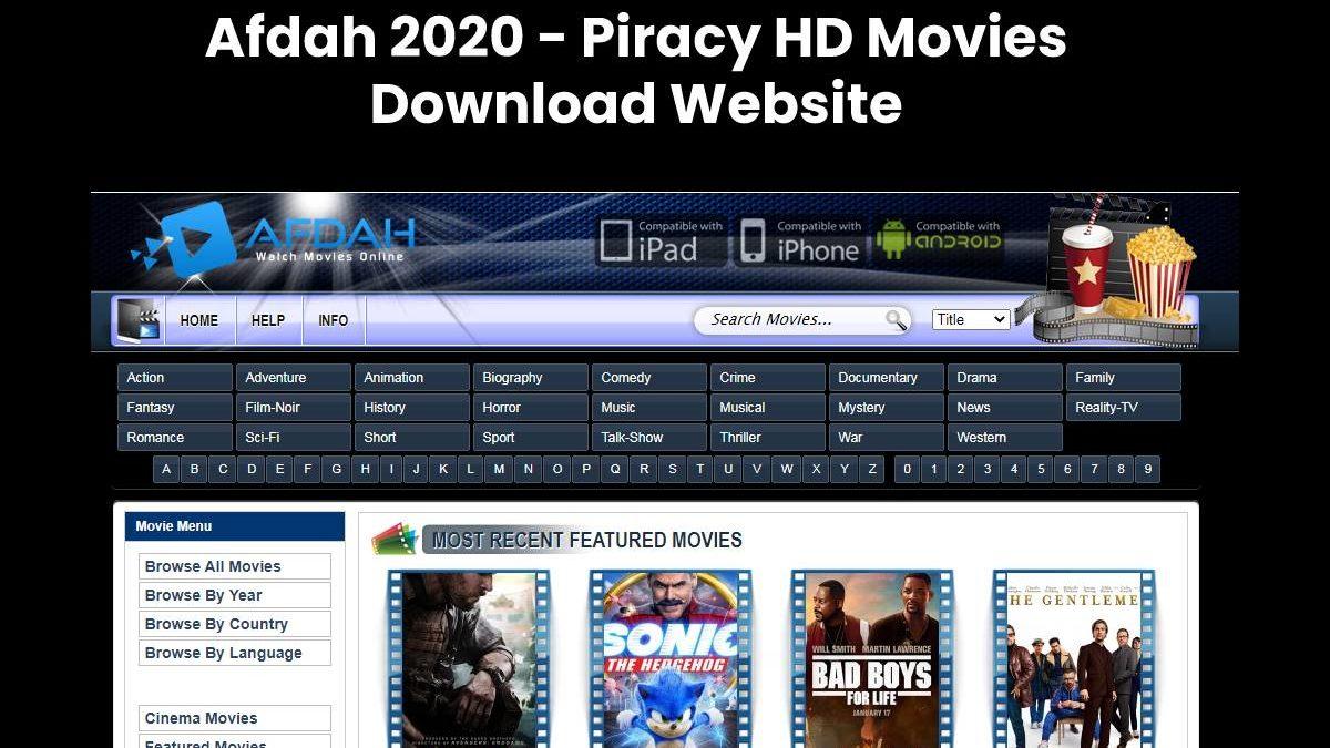 Afdah 2020 – Piracy HD Movies Download Website