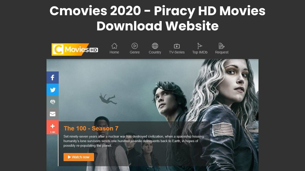 Cmovies 2020 – Piracy HD Movies Download Website