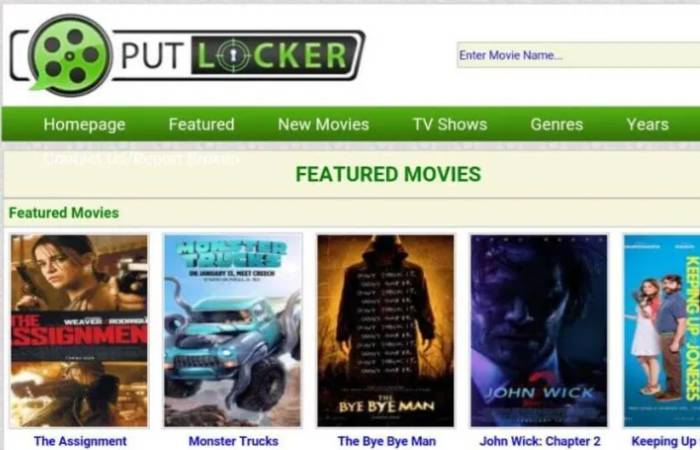 Soap2day Alternative 3 - Putlocker