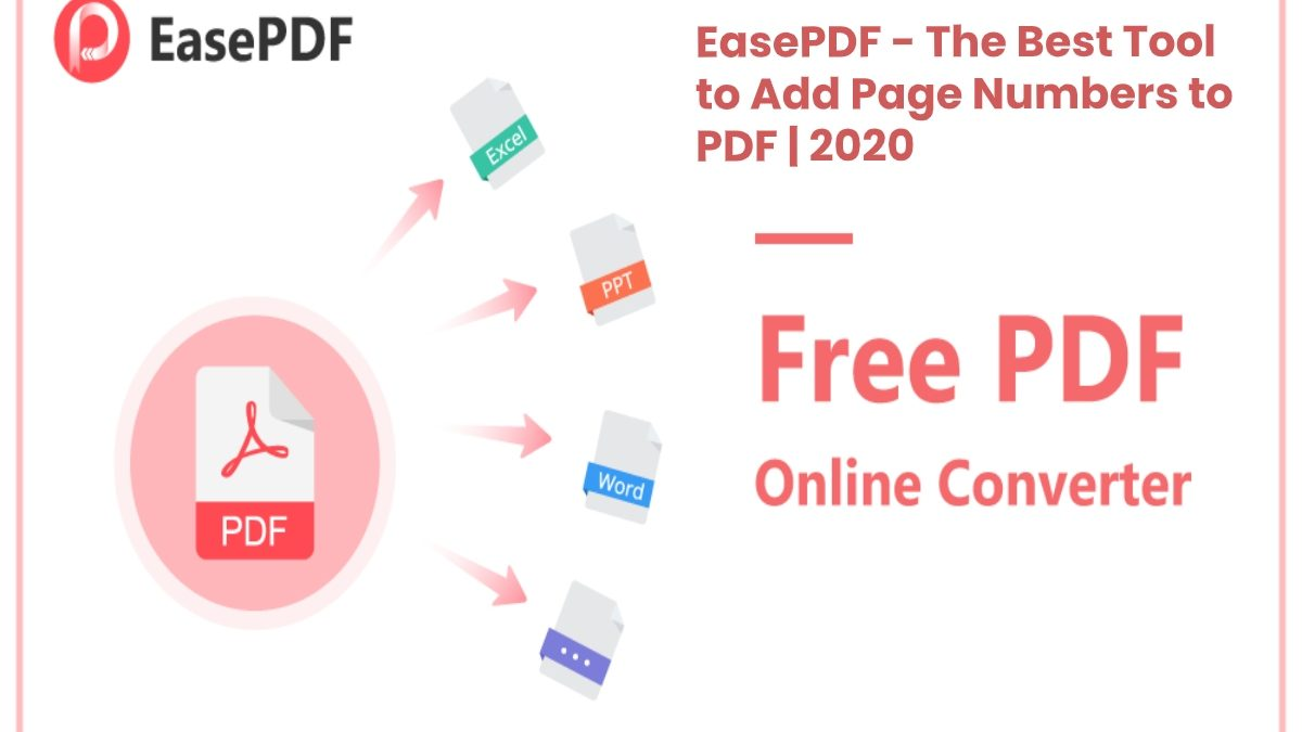 EasePDF Review – Add Page Numbers to PDF
