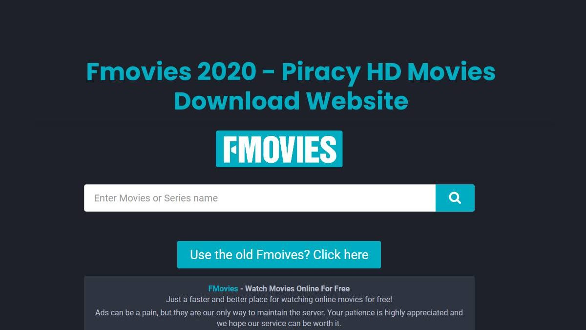 Fmovies 2020 – Piracy HD Movies Download Website