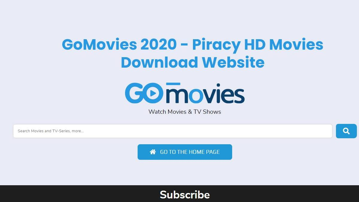 GoMovies 2020 – Piracy HD Movies Download Website
