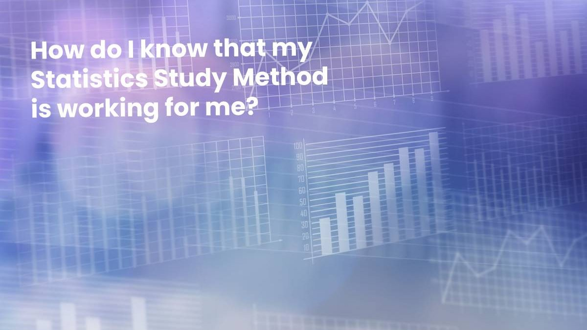A Study Method for Statistics