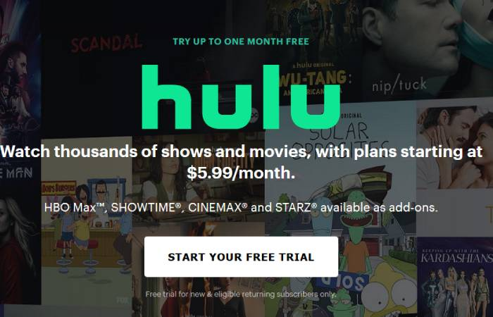 LookMovie Alternative 2 - Hulu
