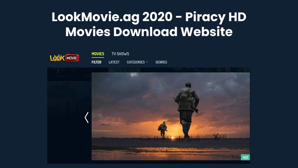 LookMovie 2020 – Illegal HD Movies Download Website, LookMovie.ag