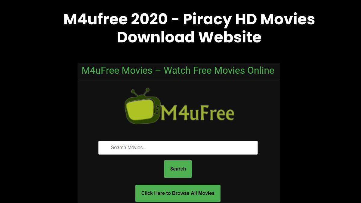 M4ufree 2020 – Piracy HD Movies Download Website