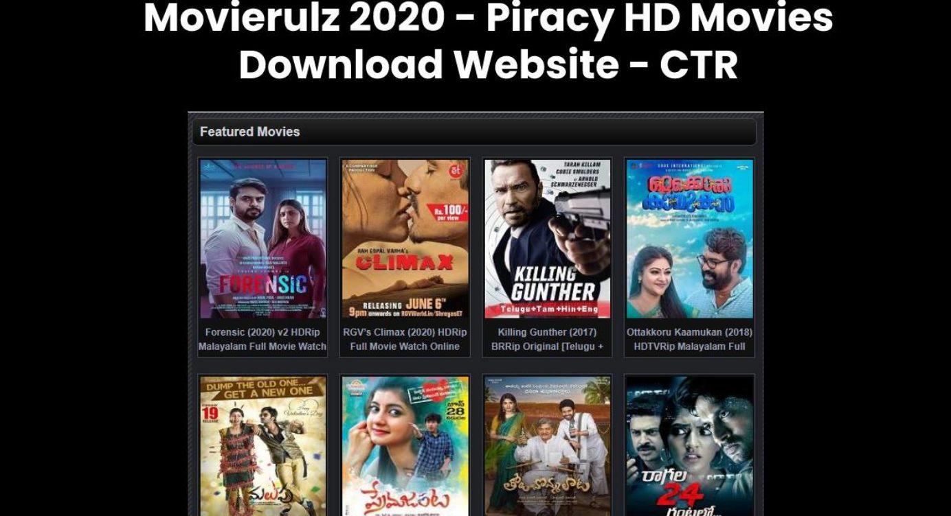 Movierulz 2020 Top 20 Movierulz Alternatives To Watch Movies July 2020