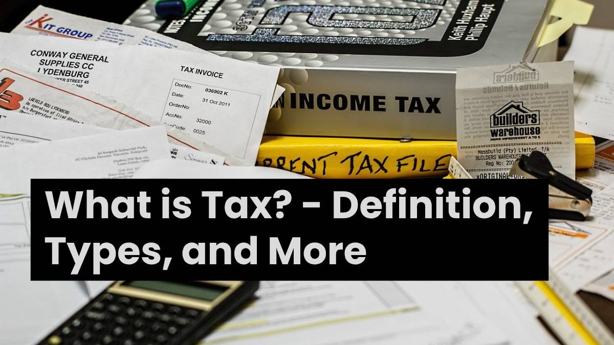 What is Tax? – Definition, Types, and More