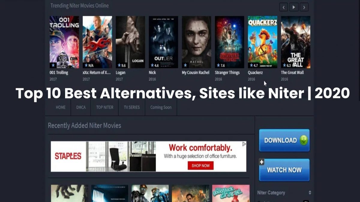 Niter 2020 – Piracy HD Movies Download Website – CTR