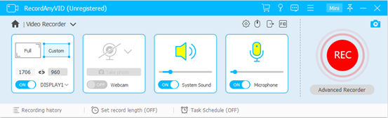 image result for Select Recording Area on RecordAnyVid