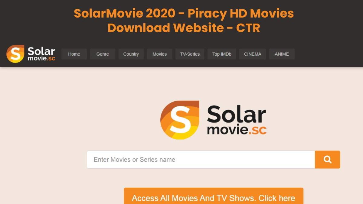 SolarMovie 2020 – Piracy HD Movies Download Website