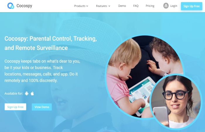 image result for Track Your Child's iPhone - cocospy
