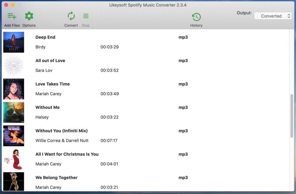 songs-added-list