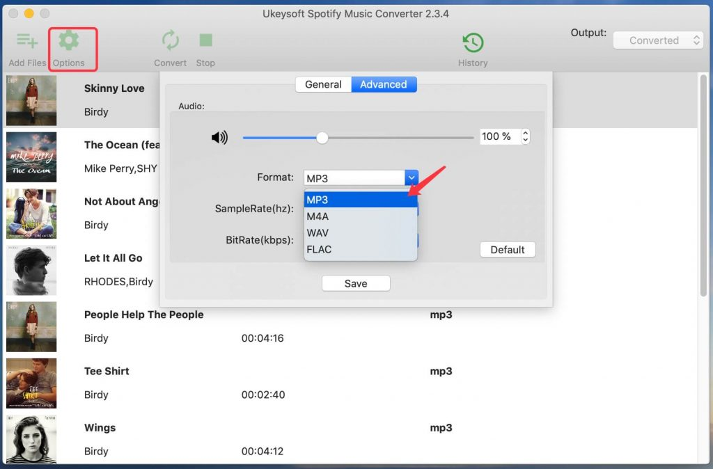 spotify-output-format-mac