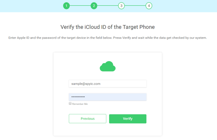 image result for verify icloud id guide - Track Your Son's iPhone