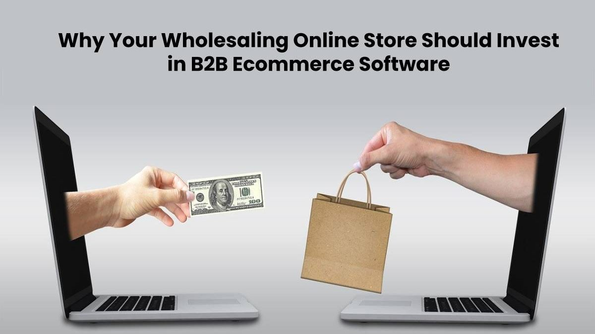 Why Your Wholesaling Online Store Should Invest in B2B Ecommerce Software